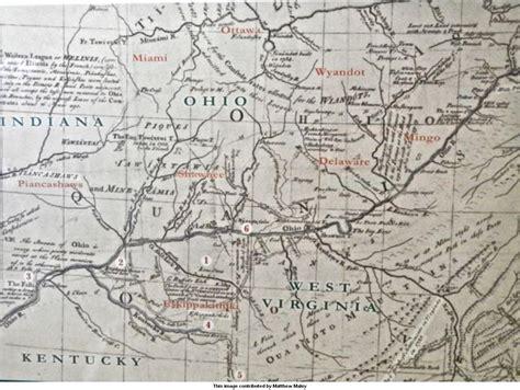kentucky hiking map kentucky 1491 trail guide