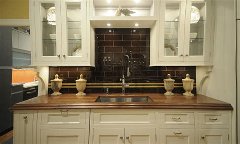 Counter Kitchen Tops Walnut Wood Kitchen Countertop With Sink By Grothouse