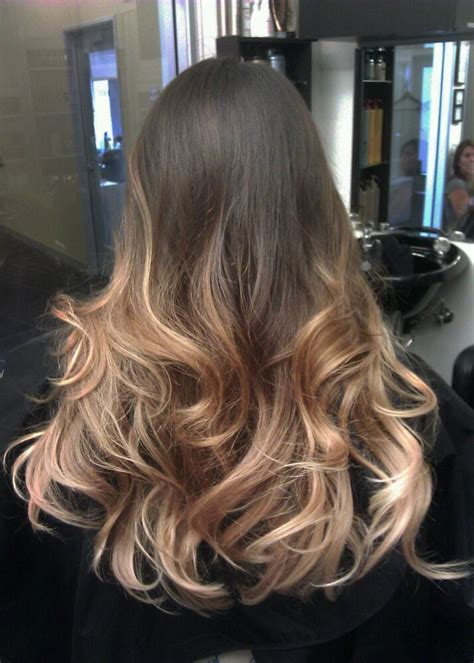 platinum and carmel hair extensions graduated ombre by guy tang honey fused into platinum