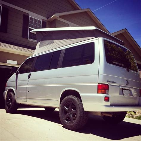 volkswagen vanagon lifted eurovan lift spacers cavevan