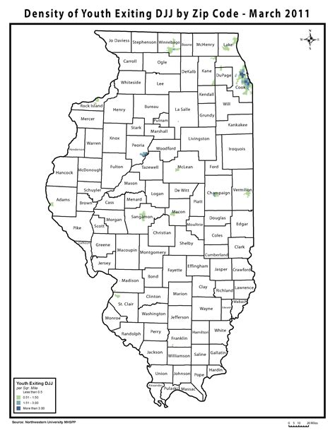 printable zip code map of illinois youth on parole in illinois maps chicago youth justice