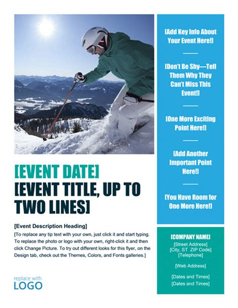 event flyer layout ideas download seasonal winter event party flyer design ideas