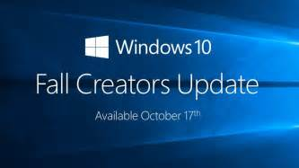 Toaster Features Windows 10 Fall Creators Update Release Date Revealed But