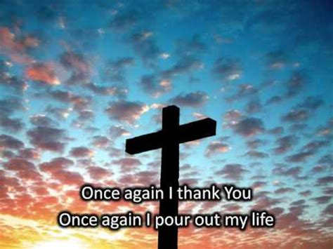 Once Again With You once again matt redman with lyrics