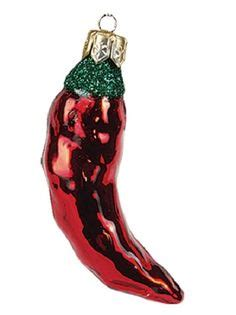 pepper ornament tradition chili pepper ornament blown and painted in the republic where there has been