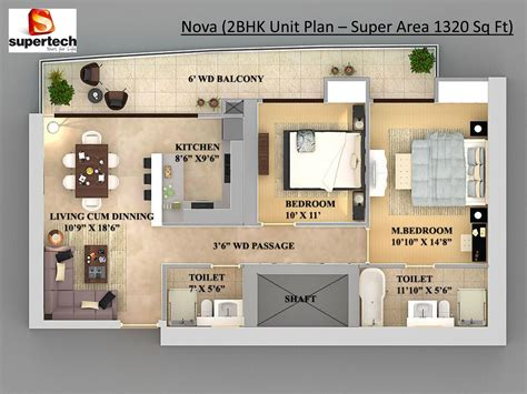 2 bhk plan 2 bhk flats floor plans