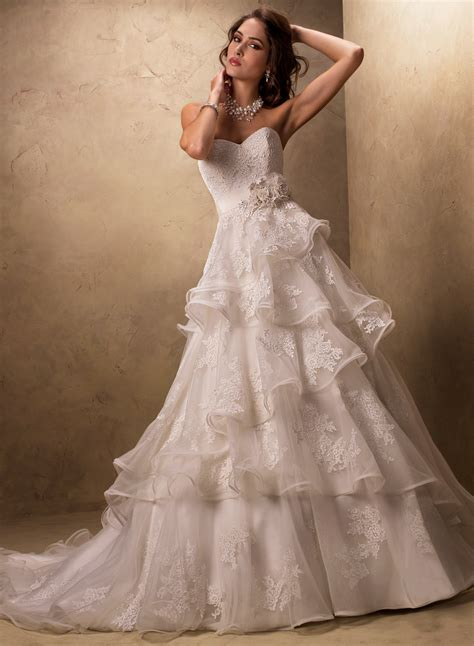 Wedding Gowns Sottero by Maggie Sottero A Line Wedding Dresses Stylish