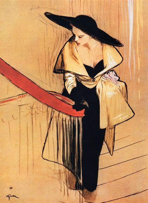 fashion illustration rene gruau and june rene gruau illustrations featuring millinery