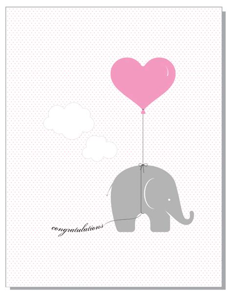 free template for name card elephant pink elephant jonesy