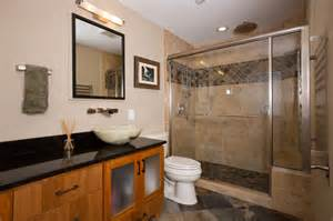 mission style master bath craftsman bathroom other