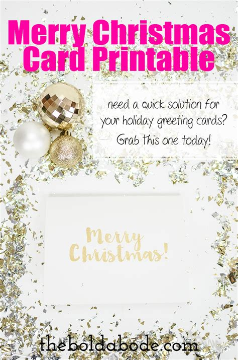 printable christmas cards foldable 5 best images of foldable card printable merry christmas