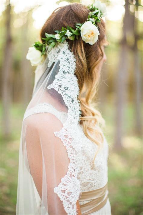 Flower Wedding Veil 1000 ideas about flower crown veil on veils