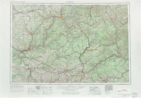 usgs topographic maps warren topographic maps pa usgs topo 41078a1 at 1 250 000 scale