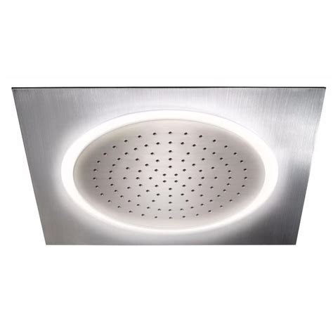 Home Depot Led Shower by Toto Legato 1 Spray 11 In Ceiling Mount Led Fixed Shower In Polished Chrome Ts624kg Cp