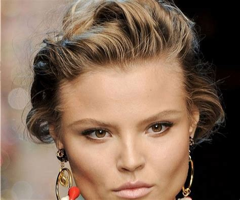 French Roll For Short Hair Search Results Hairstyle | messy french twist hairstyle image search results
