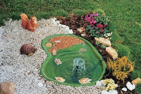 vasche x tartarughe come creare un laghetto nel proprio giardino paperblog