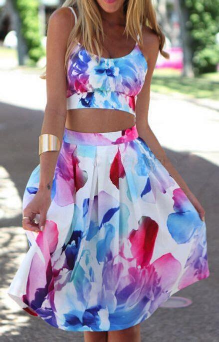 Promo Hm Floral Pastel Dress 2 summer dresses