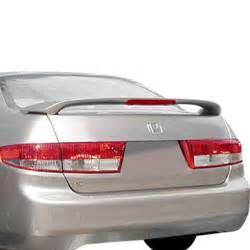 t5i 174 honda accord 4 doors 2003 2005 factory style rear spoiler with light