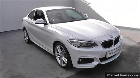 used 2014 bmw 2 series 220d m sport 2dr for sale in south