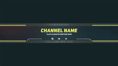 templates of banners design in photoshop youtube banner template listmachinepro com