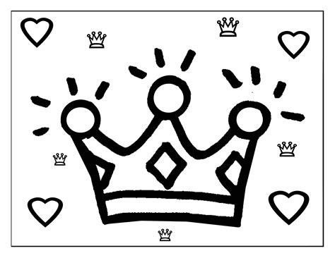 dibujos de princesas para colorear corona de princesa free coloring pages of coronas