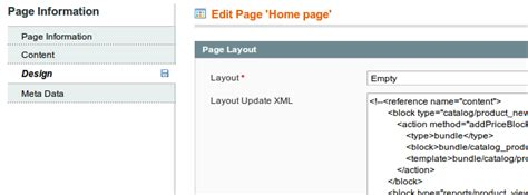Magento Home Page Design Tutorial by How To Fully Customize Magento Homepage W3bdeveloper