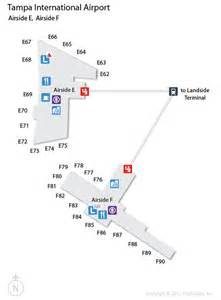 tpa ta international airport terminal map