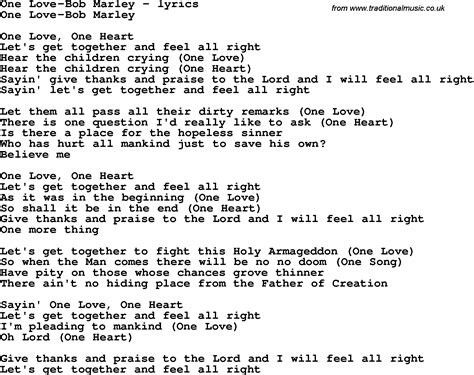 Bob Lyrics 187 One Love By Bob Marley And Song Facts