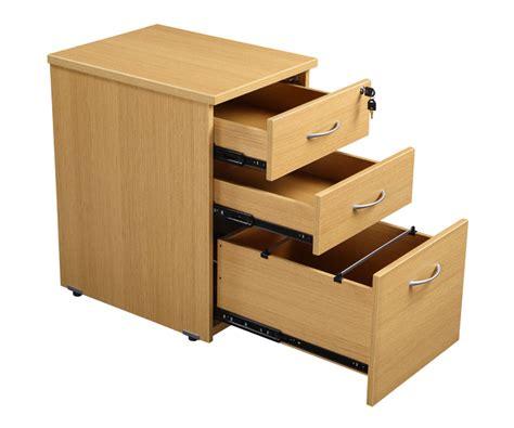 rectangular desk and 3 draw pedestal office furniture