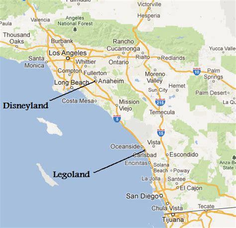 california location map legoland california location map images