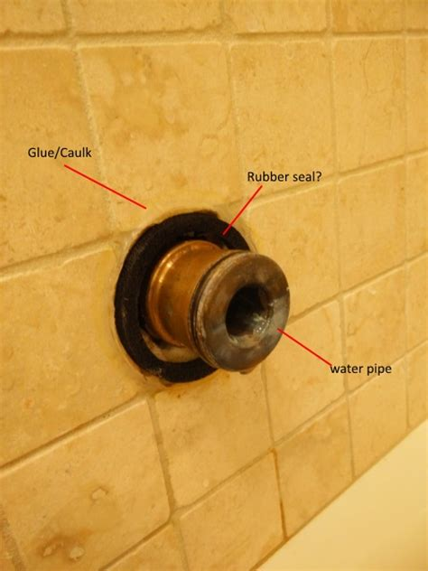 Bathtub Faucet Leaking In Wall Plumbing Bathtub Showerhead Leak Water Pipe