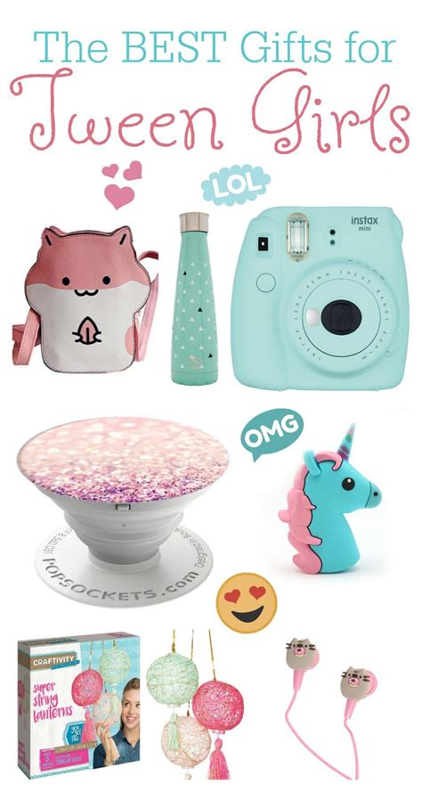 the best gift ideas for tween girls