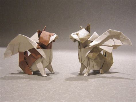 Origami Winged - 25 purr fect origami cats fur real i m not kitten