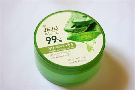 Jeju Aloe the shop jeju aloe fresh soothing gel review