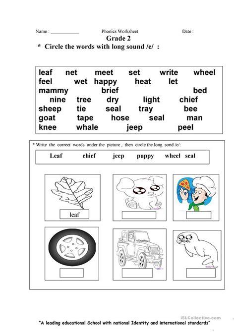 I E Worksheets by E Sound Worksheet Free Esl Printable Worksheets