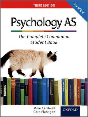 the psychology companion palgrave student companions series books psychology as the complete companion student book by