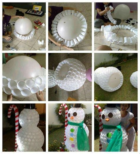 how to mske christmas ornaments with plastic cups best 25 plastic cup snowman ideas on snowman cup plastic cup crafts and plastic cups