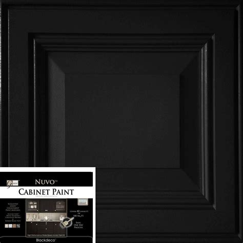 nuvo cabinet paint taupe nuvo 2 qt taupe cabinet paint kit fg nu taupe r the home depot