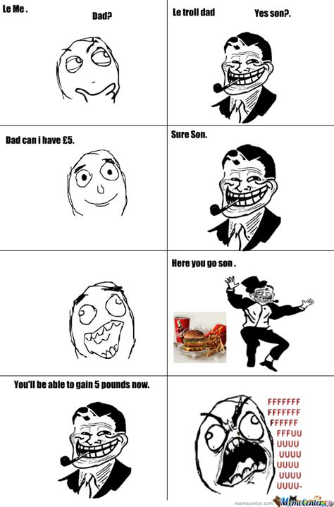Troll Dad Memes - troll dad by randomprod meme center