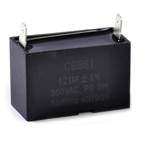 what size capacitor for generator cbb61 350 vac 50 60hz gasoline generator capacitor 12uf ceiling fan motor ebay