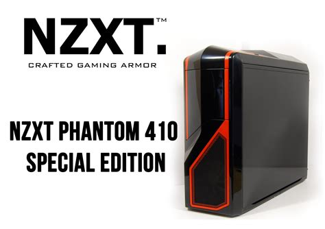 Nzxt Phantom 410 Se nzxt phantom 410 special edition mid tower gaming