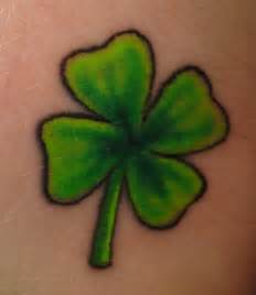 Four leaf clover tattoo design for women tattoos