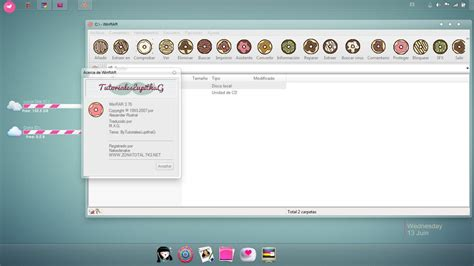 download themes windows 7 rar donuts winrar theme by tutorialeslupitha on deviantart