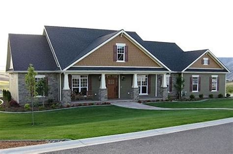 4 car garage house plans craftsman 4 bedroom 3 car garage house plans