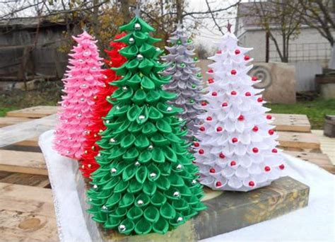 ribbon craft ideas ribbon christmas trees nbeads