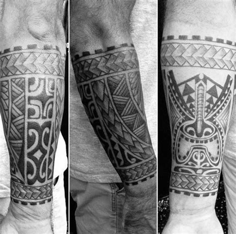 tattoo lower arm designs creative tribal forearm design ideas