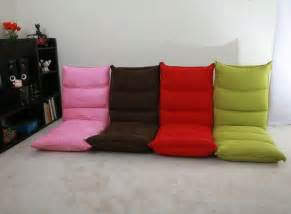 floor seating living room chair header type 5 step folding