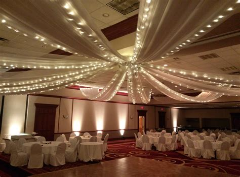wedding ceiling draping ceiling swag party pleasers services