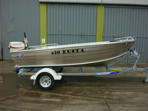 boats quintrex boat listing quintrex 420 busta package