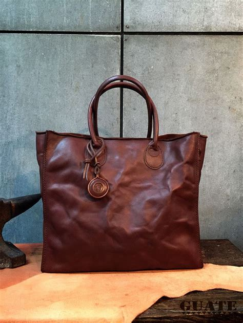 Handmade Leather Bags Singapore - guate bag base l leatherbag guatebag bangkok